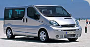 See rates for Opel Vivaro
